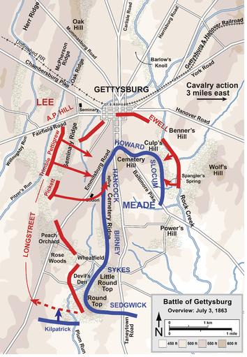 Gettysburg 3 July