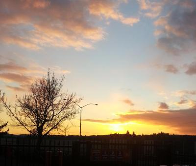 Sunset 3 December 2013