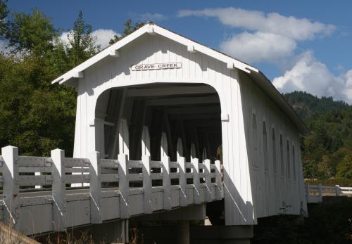 Grave Creek bridge