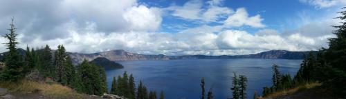 Crater Lake view 1