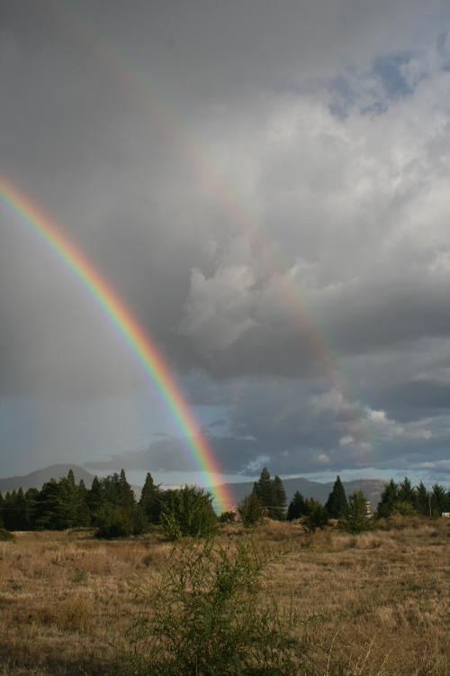Double rainbow Medford