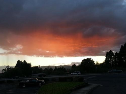 Medford sunlit rain 2