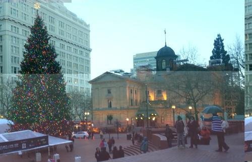 Pioneer Square Christmas 2014