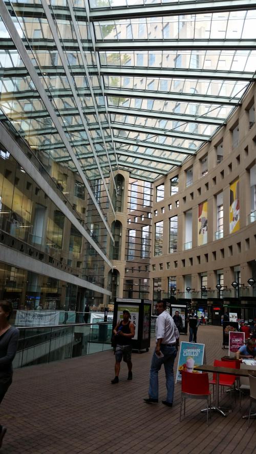 Atrium Vancouver library main branch