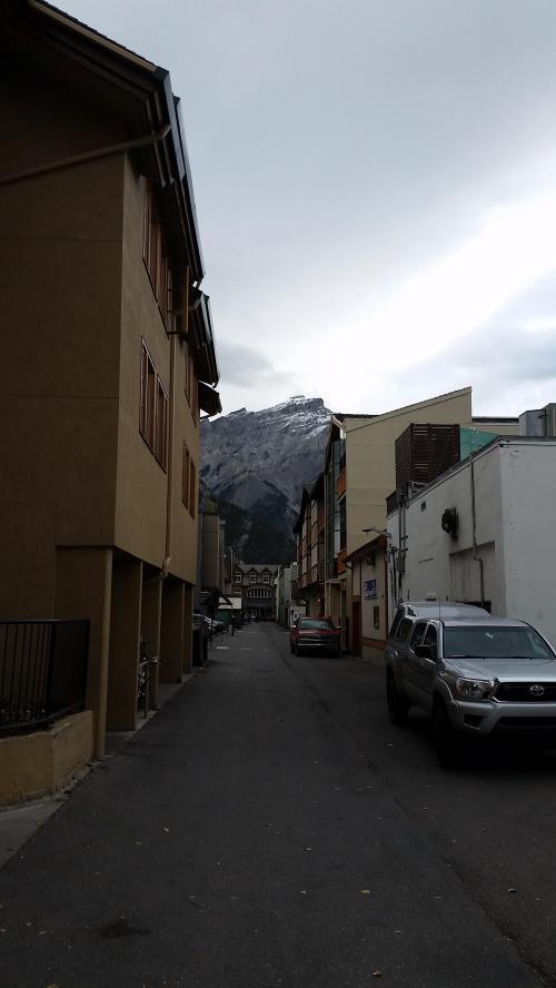 Banff alley
