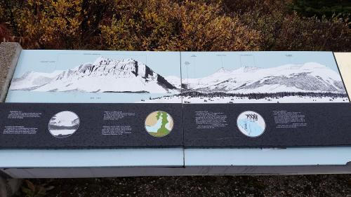 Bow Lake placard