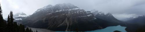 Bow Peak and Peyto Lake