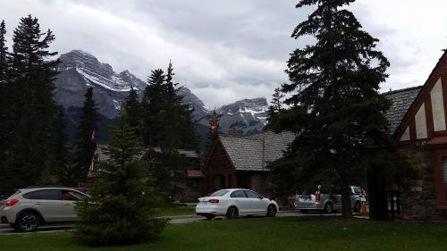 Entrance to Banff National Park