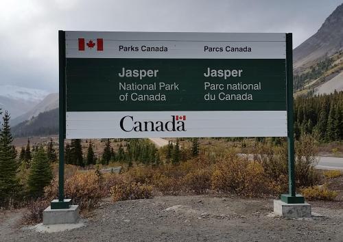 Jasper Park sign