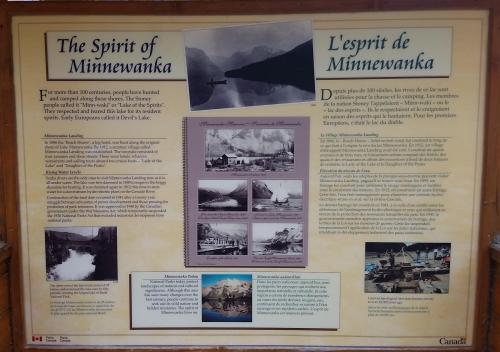 Minnewanka Lake info