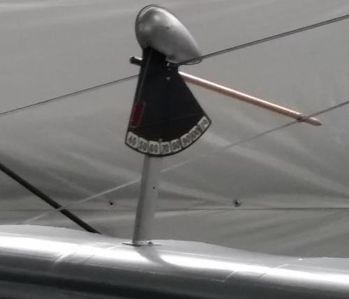 1910s airspeed indicator