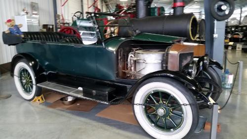 1918 Stanley steam car