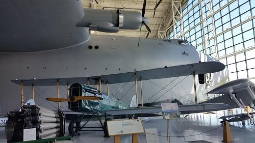 Evergreen museum DH-4