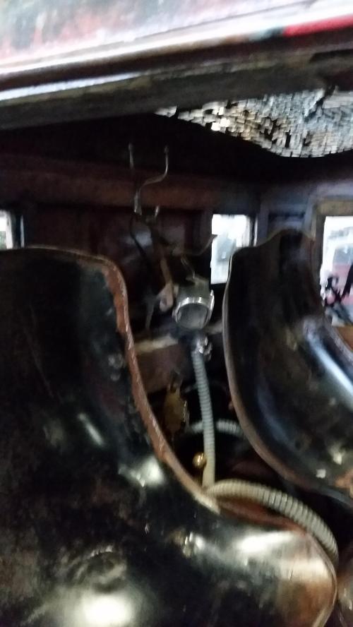 WAAAM hot rod interior