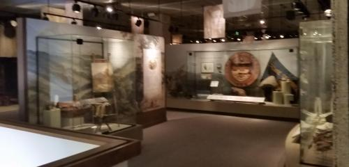 OHS museum 3rd floor lobby