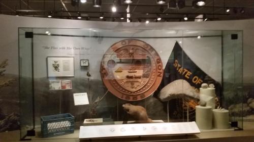 OHS museum Oregon state symbols