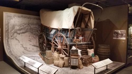OHS museum Oregon Trail wagon