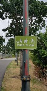 OMSI ride slow sign