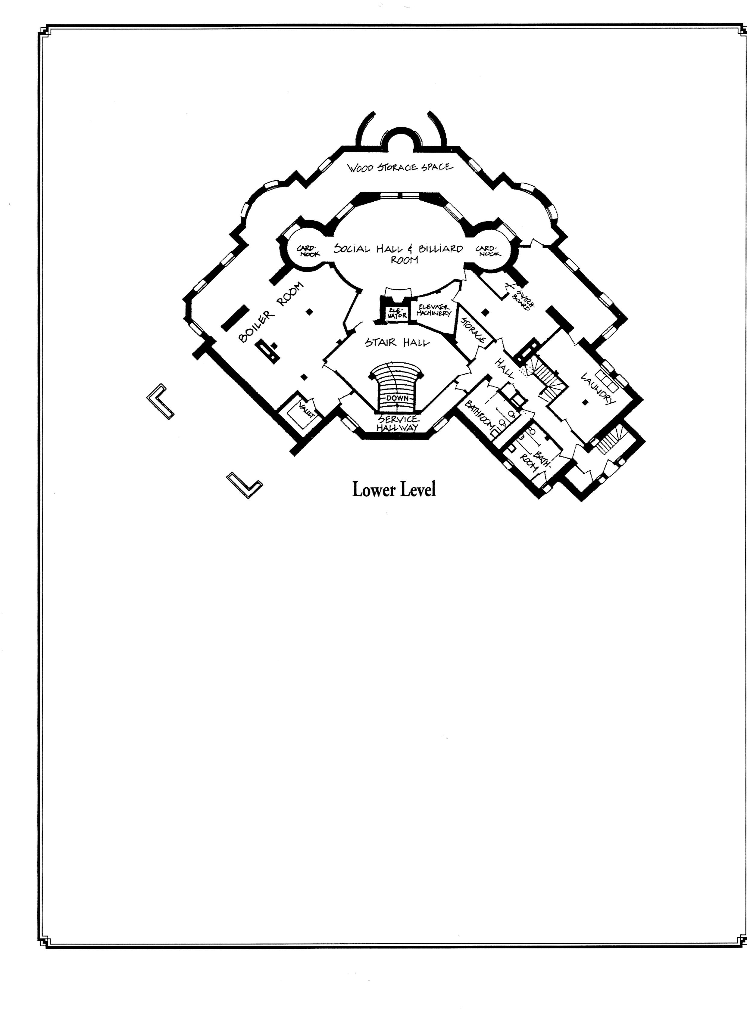 Pittock Mansion Floor Plan 2 Fixed Points