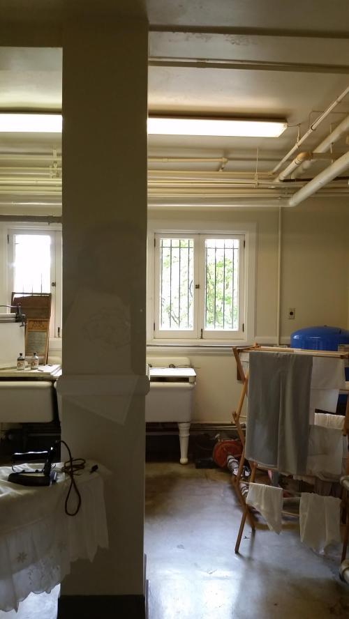 Pittock mansion laundry room