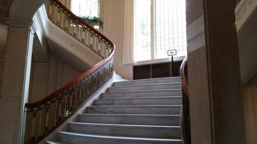 Pittock mansion main staircase