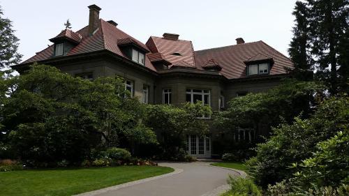 Pittock mansion rear