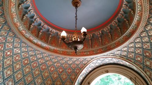 Pittock mansion smoking room ceiling