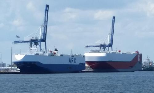 Charleston auto ships