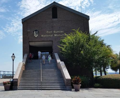 Fort Sumter building front