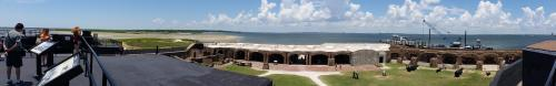 Ft Sumter overview from upper level