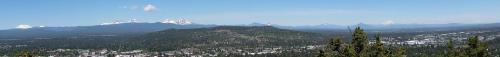 Bend Pilot Butte panorama
