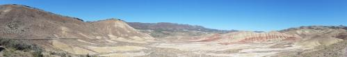 Painted Hills from overlook 1