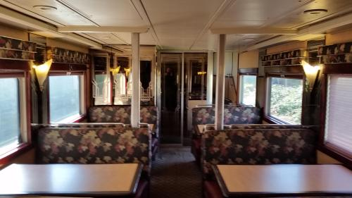 2017 Bday Mt Hood RR dome car lower level