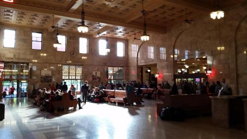 Portland Union Station Interior 21 May 2017