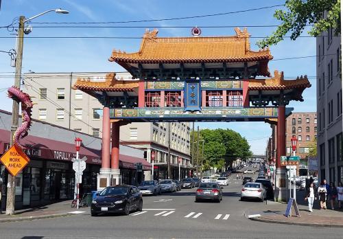 Seattle Chinatwon gate 21 May 2017