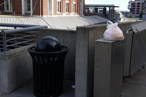 Seattle trash so close