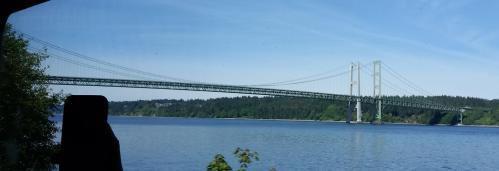Tacoma Narows bridge 21 May 2017