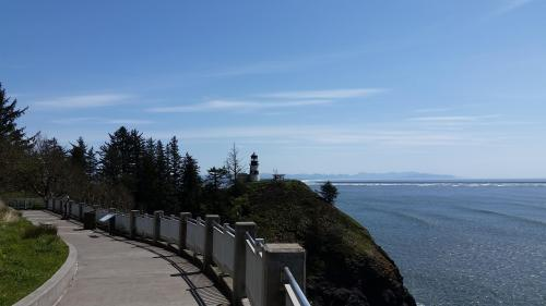 Cape Disappointment view from Lewis Clark center