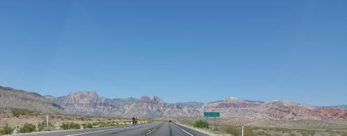 Nevada drive to Red Rock Canyon