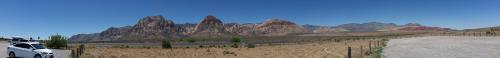 NV Red Rock Canyon end of road 360 panorama