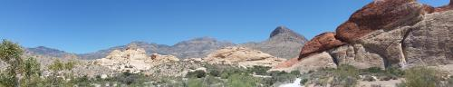 NV Red Rock Canyon Sandstone Quarry panorama