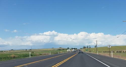 OR Newberry Hwy 97 convective activity 190625