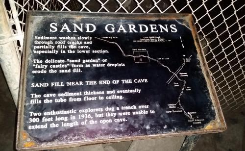 OR Newberry lava tube Sand Garden sign 190624