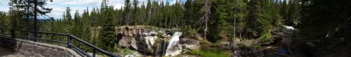 OR Newberry Paulina Falls overlook panorama 190625