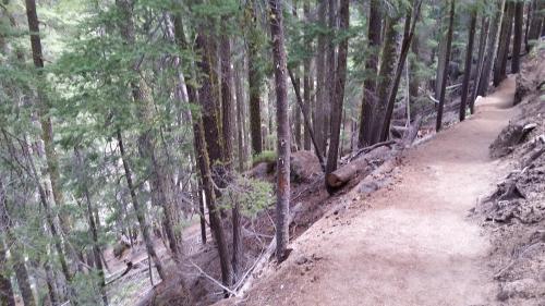 OR Newberry Paulina Falls trail to bottom 2 190625
